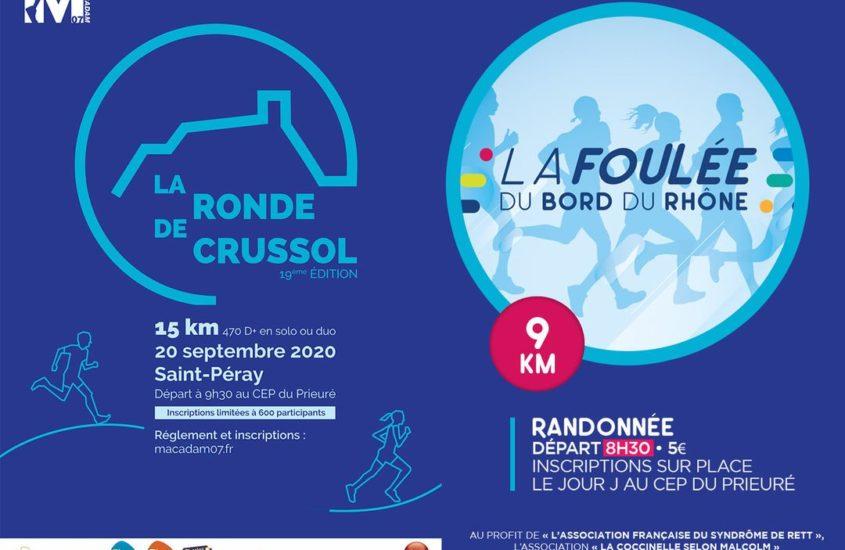 Foulée Bord du Rhône pour l'AFSR